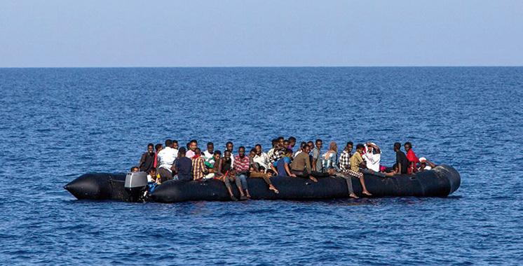 Emigration clandestine : 424 émigrés, à majorité des Subsahariens, secourus par la Marine royale