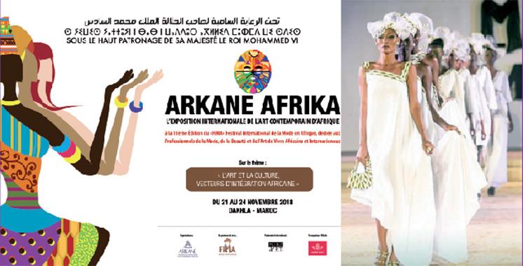 Exposition en marge du 1er Fima au Maroc : «Arkane Afrika» valorise la créativité  des artistes du continent