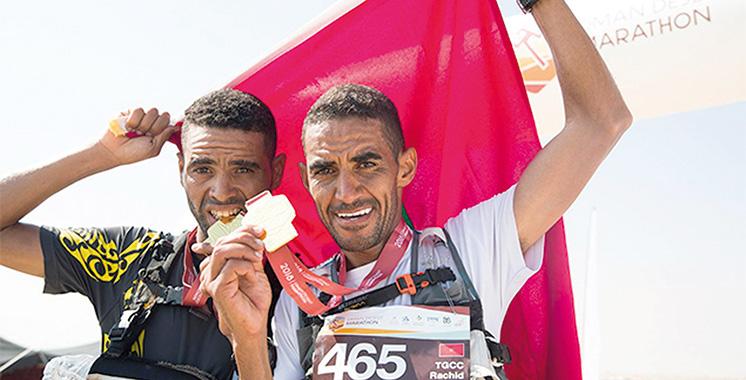 Marathon : Rachid El Morabity et Aziza Raji s'illustrent à Oman