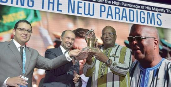 MEDays 2018 : Le président du Burkina Faso distingué
