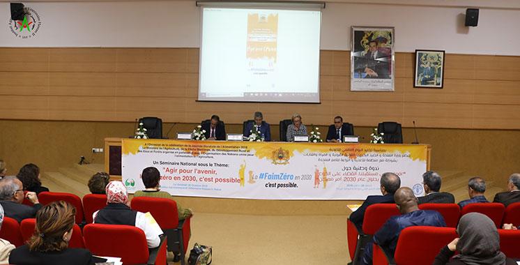 Journée mondiale de l'alimentation : Le Maroc partage son expérience