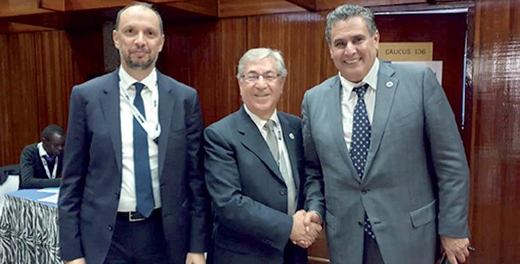 Le commissaire européen invité au 5è Salon Halieutis : Akhannouch évoque avec Karmenu Vella les bonnes perspectives de l'économie bleue durable