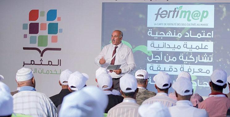 Le dispositif de proximité d'OCP «Al Moutmir  Li Khadamat  Al Qorb» fait escale à Settat