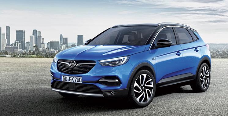 Opel : Le Grandland X fait son entrée au Maroc