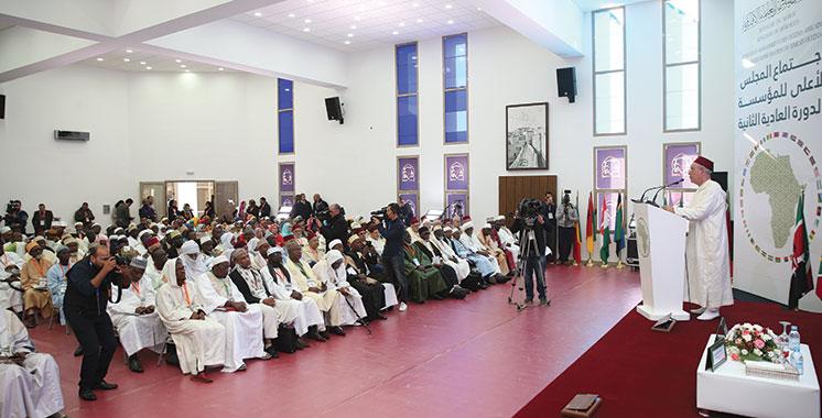 Fondation Mohammed VI des ouléma africains : Adoption d'une série de projets