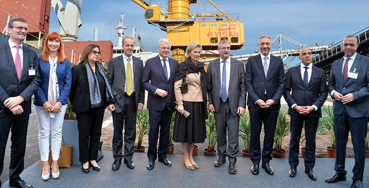 Mass Céréales Al Maghreb reçoit la mission économique belge