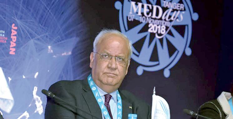 Saeb Erekat : «Il est temps pour les pays arabes de maîtriser le langage des intérêts»