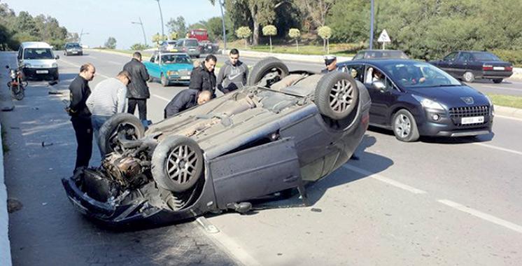 Accidents de la circulation : 20 morts et 1.692 blessés en une semaine