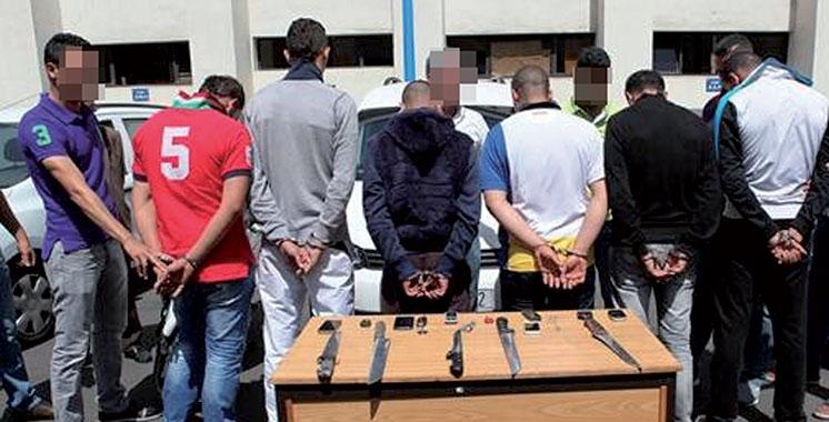 Laâyoune: Démantèlement d'une bande de malfrats dont un mineur et un militaire
