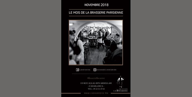 Un novembre encore plus parisien chez La Bavaroise