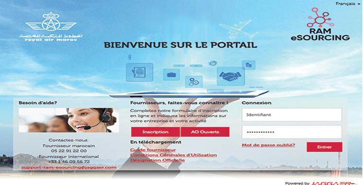 «RAM E-sourcing» : Un portail pour la passation  des marchés publics