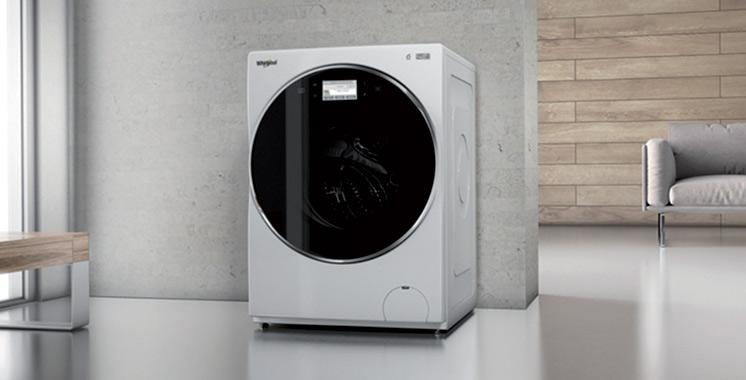 Whirlpool lance la nouvelle génération de machines à laver W Collection