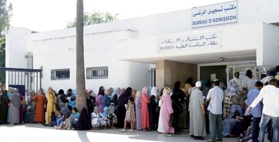 Près de la moitié de la population a une couverture médicale