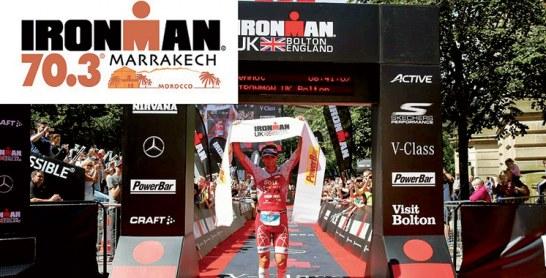 Prévue le 27 octobre 2019 : La course Ironman 70.3  à Marrakech