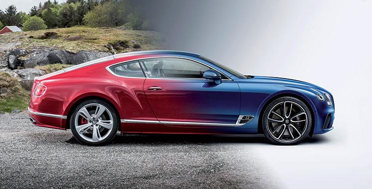 Bentley Continental GT Convertible : Quand le luxe et la performance  ne font qu'un