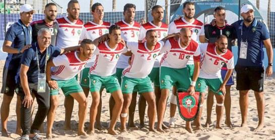 CAN-2018 de beach-soccer : Le Maroc dans le dernier carré