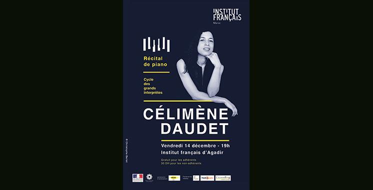 Cycle des grands interprètes : Célimène Daudet en tournée dans plusieurs villes