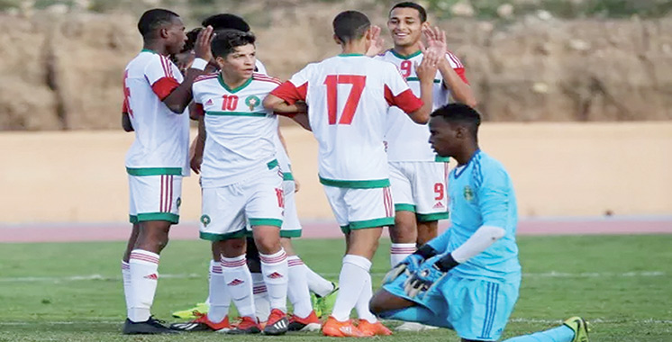 Coupe de l'UNAF U17 2018 : Le Maroc rejoint le Sénégal en finale