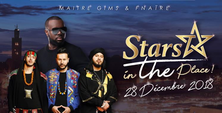 Et de deux pour Stars in the place : Maître Gims en concert à Marrakech