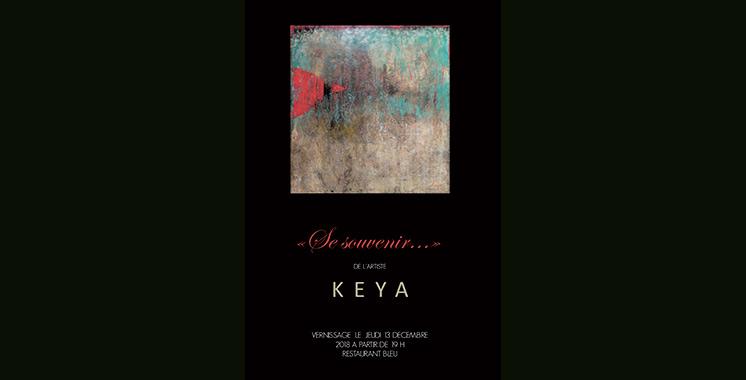 Keya expose à Casablanca