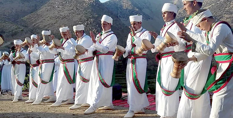 La danse «Taskiwin» en fête  à Taroudant