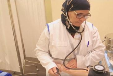 L'équipe médicale du Forum Mondiale sur la Migration et le Développement
