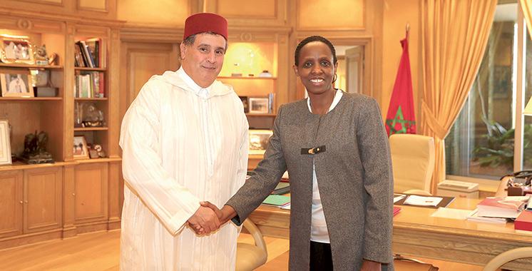 Agriculture verte : Aziz Akhannouch s'entretient avec Agnes Kalibata
