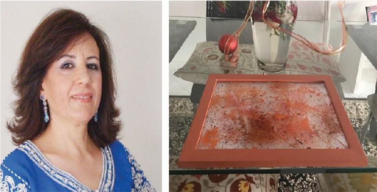 Une collection de peinture sur verre signée Majida Serghini Idrissi