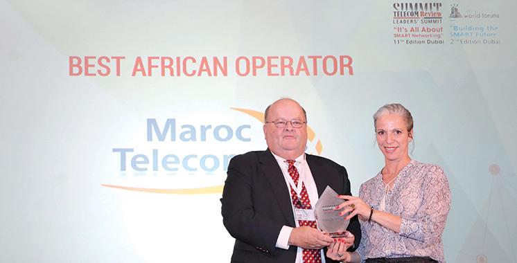 Consécration : Maroc Telecom, meilleur opérateur africain