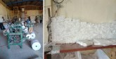 Province de Berrechid : Démantèlement d'un atelier clandestin de fabrication des sacs en plastique interdits