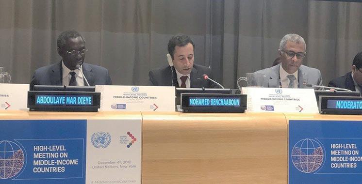 Benchaaboun met en exergue l'expérience  marocaine concernant la mise en oe uvre des ODD