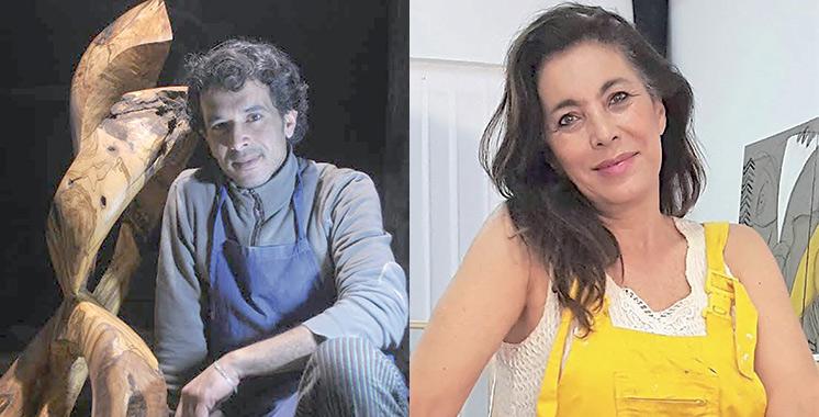 Art contemporain : Othman El Hoari et Laila Iraki exposent à Tanger