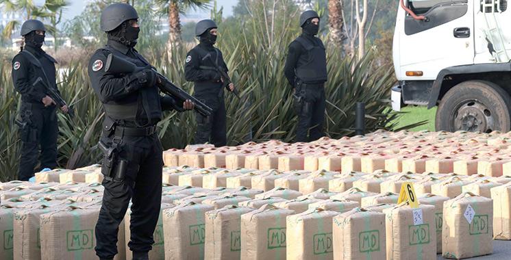 Saisie de cannabis, tabacs en feuilles et de boissons alcoolisées à Ouled Taïma et Had Soualem