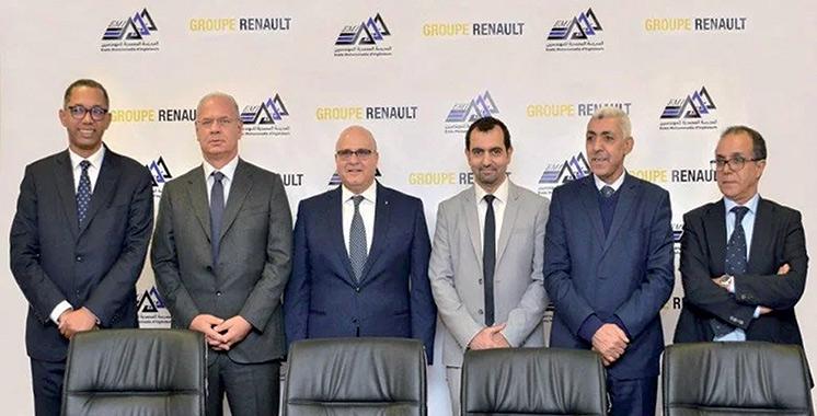 Programme de formation d'ingénieurs : Renault Maroc et l'EMI s'allient