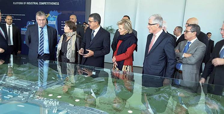 Conduite par SAR la Princesse Astrid de Belgique : Tanger dernière étape de la visite de prospection de la mission économique belge