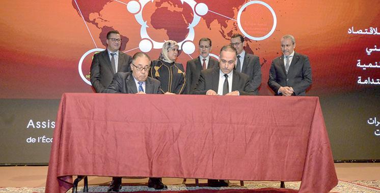 Assises de l'économie sociale et solidaire : Quatre conventions signées à Skhirat