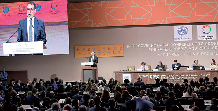 SM Mohammed VI : «La Conférence de Marrakech est un appel à l'action»
