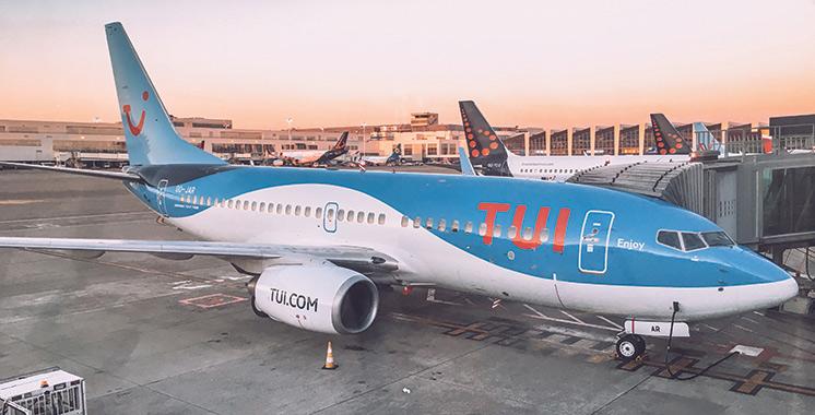TUI flyrelance les vols au départ du Maroc vers la France et la Belgique