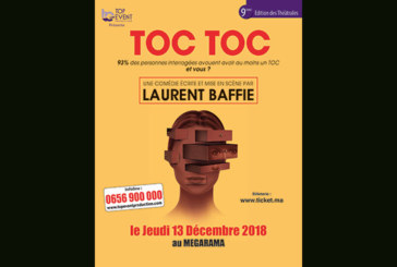 Les Théâtrales de Casablanca : «Toc Toc» au Mégarama