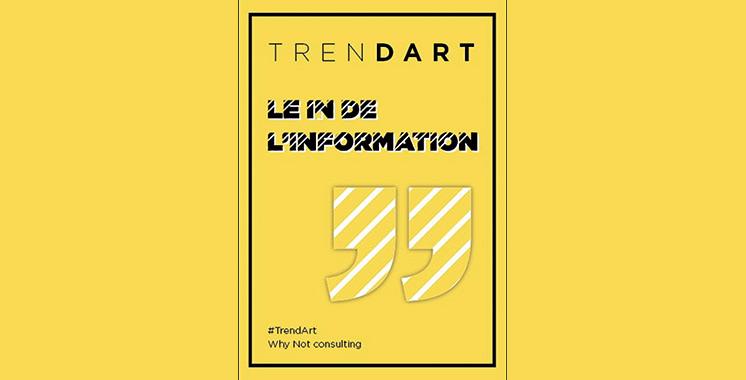 Lancée par l'agence Why Not Consulting : Restez au courant de l'information culturelle et artistique sur TrendArt
