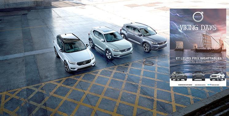 «Viking Days» de Volvo Maroc : Des offres promotionnelles et des showrooms ouverts 7/7