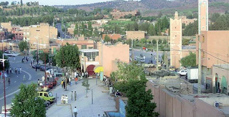 Azilal : Inauguration d'un centre commercial de proximité  financé par l'INDH