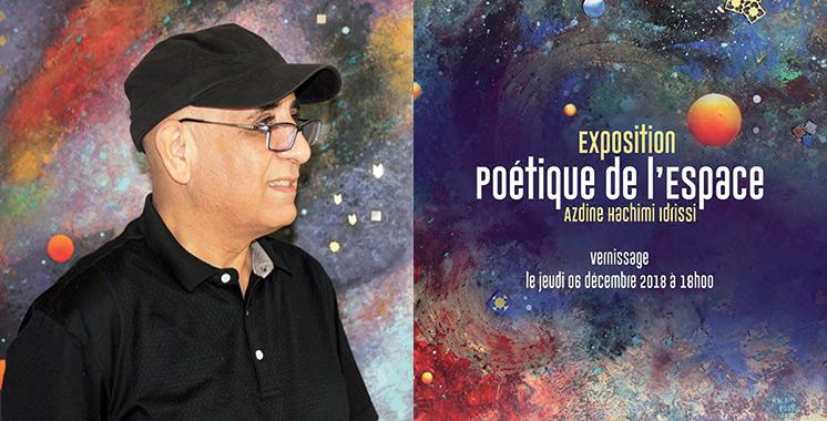 «Poétique de l'Espace» : Immersion dans l'univers pictural d'Azdine Hachimi Idrissi