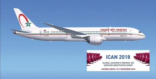 La RAM à Nairobi pour la 11ème conférence sur les négociations aériennes