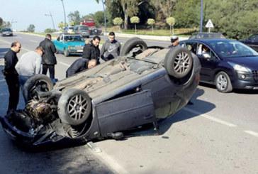 Accidents de la circulation : 27 morts et 2.023 blessés en une semaine