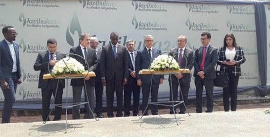 Aujjar rend hommage aux victimes du génocide de 1994 au Rwanda