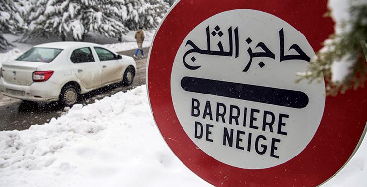 Chutes de neige : 5 routes coupées et 11 rétablies