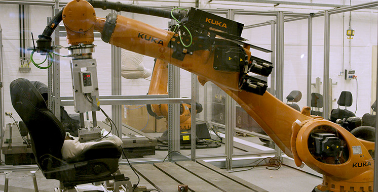 Simulateur : Ford dote ses véhicules d'un «Robutt» anti-transpirant