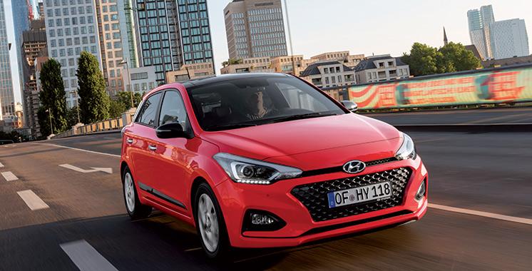 Hyundai dévoile sa nouvelle i20 restylée