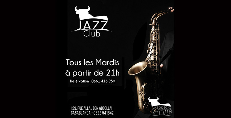 La Bodéga lance son Jazz Club  tous les mardis soir
